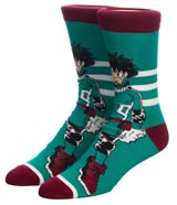 My Hero Academia Character Crew Socks 3 Pack