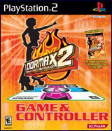 Dance Dance Revolution Max 2 Bundle w/ Dance Pad