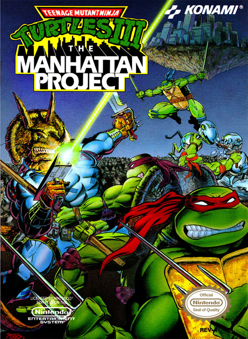 Teenage Mutant Ninja Turtles III: MANHATTAN PROJECT