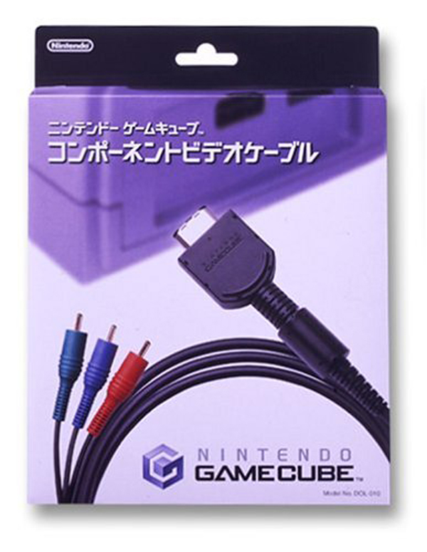 GameCube Component Video Cable