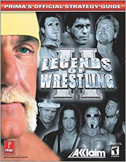 Legends of Wrestling 2 Official Strategy Guide Book