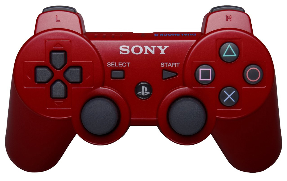 Playstation 3 DualShock 3 Controller Deep Red by Sony