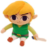 Legend of Zelda Phantom Hourglass Link 12 Inch Plush