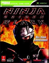 Ninja Gaiden Black Strategy Guide