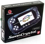 Bandai WonderSwan Crystal System Clear Black