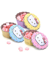 Hello Kitty Cupcake Candy Tin