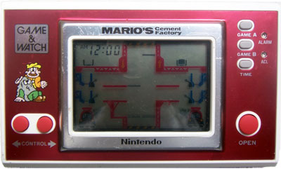 Game & Watch New Wide Screen Series: Mario's Cement Factory