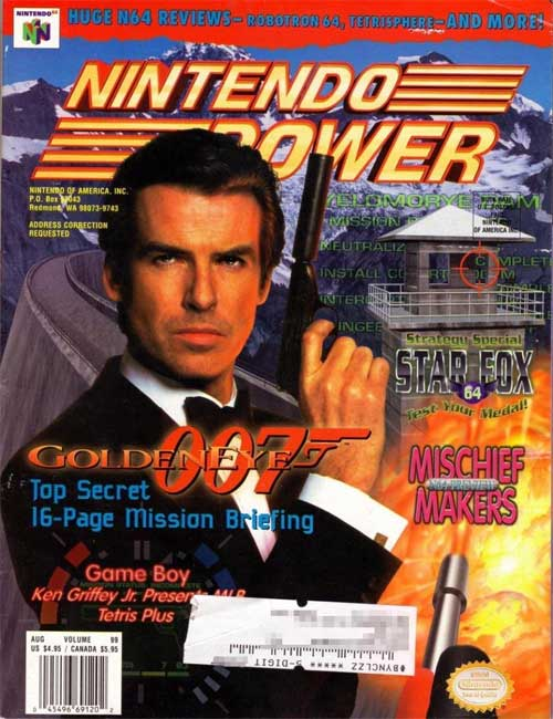 Nintendo Power Volume 99 Goldeneye 007