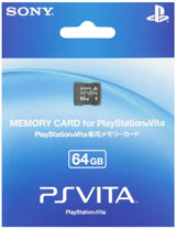 PlayStation Vita 64GB Memory Card