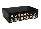 4 Port Audio Video Switch
