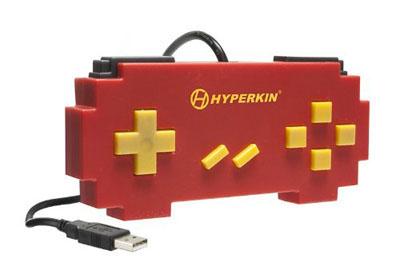 USB Pixel Art Controller Red (Hyperkin)
