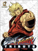 Street Fighter Tribute Hard Cover Artbook