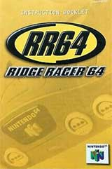 Ridge Racer 64 (Instruction Manual)