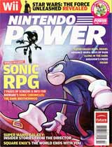 Nintendo Power Volume 225 Sonic RPG