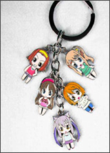 K-On! Characters Keychain