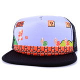 Super Mario Bros Fire Mario Trucker Cap