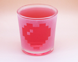 Arts & Crafts: Legend of Zelda Heart Logo Custom-made 13oz Glass