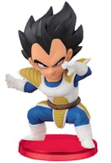 Dragon Ball Z WCF Battle Vegeta 3 Inch Figure