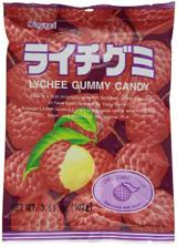 Kasugai Gummy Candy Lychee 3.59oz