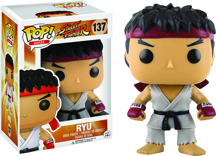 Pop Games Street Fighter Ryu Vinyl Figure