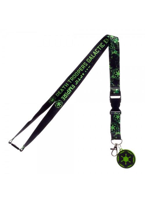 Star Wars Rogue One Empire Lanyard with Charm