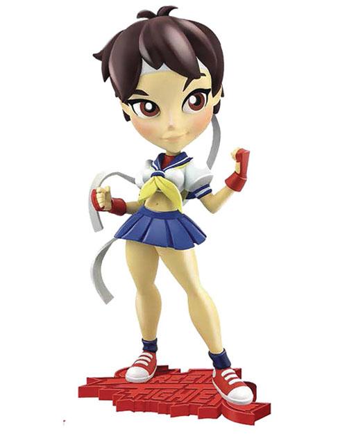 Street Fighter Sakura Knockouts 7 Inch Vinyl Figure