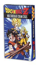 Dragon Ball Z Chocolate Cream Sticks