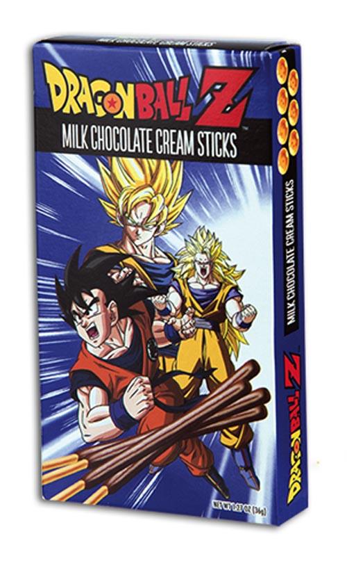 Dragon Ball Z Chocolate Cream Sticks