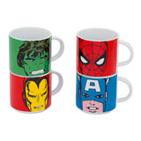 Marvel Comics Stacking Ceramic Mug Set