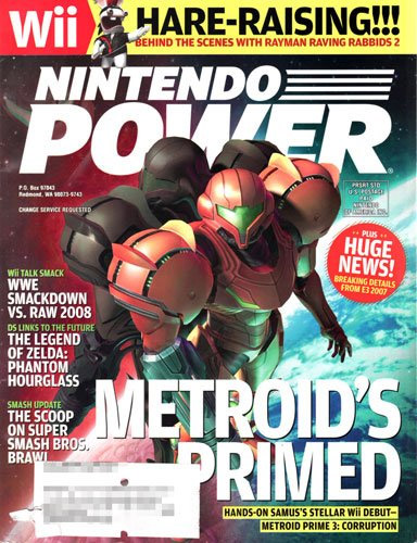 Nintendo Power Volume 219 Metroid Prime 3: Corruption