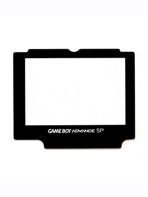 Game Boy Advance SP Glass Replacement Screen Cover