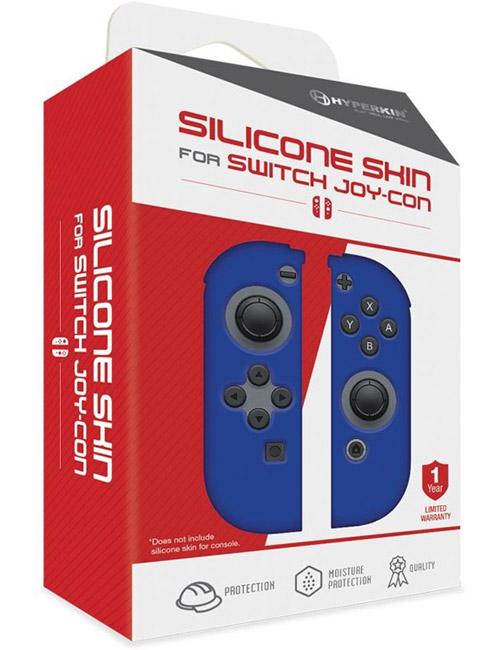 Nintendo Switch Joy-Con Neo Blue Silicone Skin 2 PK