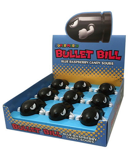Super Mario: Bullet Bill Candy Sours