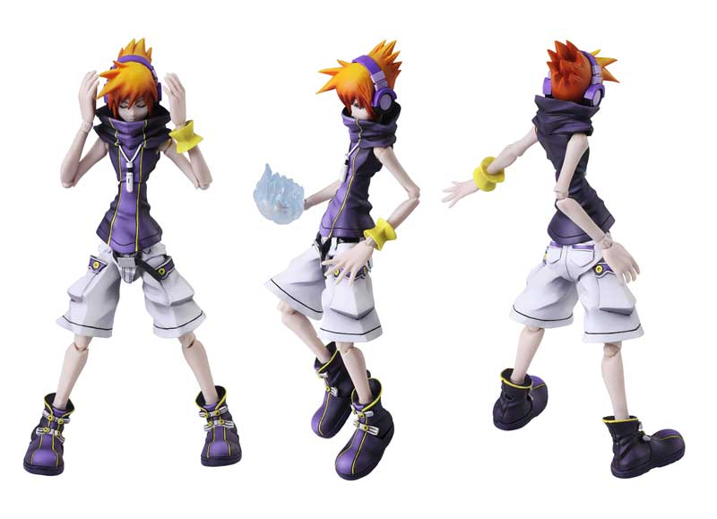 World Ends With You Final Remix Bring Arts Figure Neku additional poses