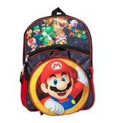 Super Mario Backpack with Lunchbox