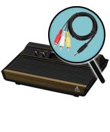 Atari 2600 AV Composite Video Mod Installation Service