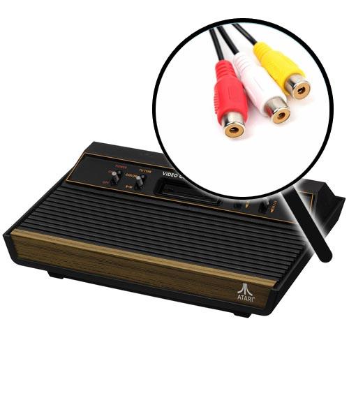 Atari 2600 AV Composite Video Mod Installation Service