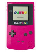 Nintendo Game Boy Color Berry Refurbished System - Grade A