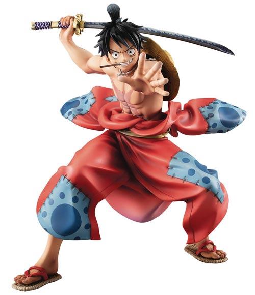 One Piece Portrait of Pirates Warriors Alliance Luffytaro PVC Figure