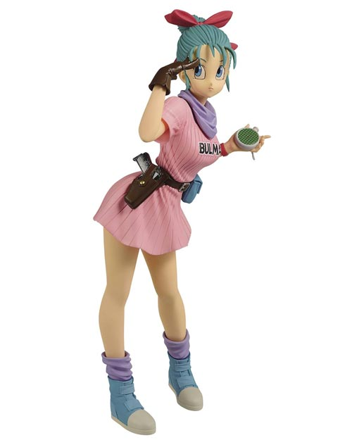 Dragon Ball: Glitter & Glamour Bulma III Figure Pink Outfit