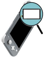 Nintendo Switch Lite Gray Repairs: Touch Screen Replacement Service