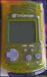 Dreamcast VMU Clear Yellow by Sega