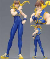 Capcom Girls Collection Heavy Gauge PVC Statue: Chun Li