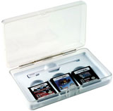 Nintendo DS Lite Clear Armor Case by Intec