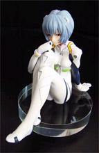 Neon Genesis Evangelion Sitting Rei in Plug-Suit 1/7 Scale PVC Statue