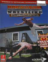 Backyard Wrestling: Don't Try This at Home Official Strategy Guide Book