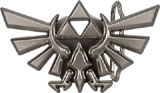 Legend of Zelda Twilight Princess Triforce Belt Buckle