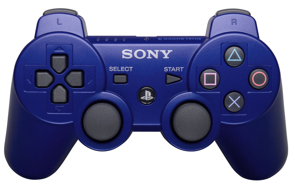 Playstation 3 DualShock 3 Controller Metallic Blue by Sony