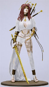 Fantasy Figure Gallery: Medusa's Gaze PVC Statue White Version