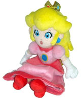 Nintendo Princess Peach 8 Inch Plush